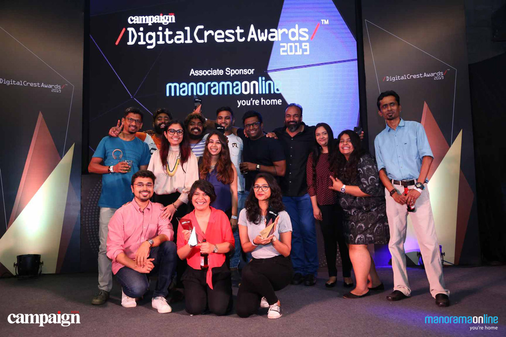 Campaign India Digital Crest Awards 2020